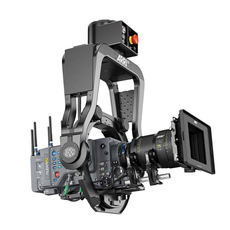 Arri srh3 head on Ultra arm by Motion House