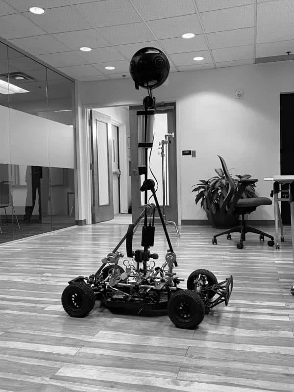 LoMo with Virtual Reality Camera
