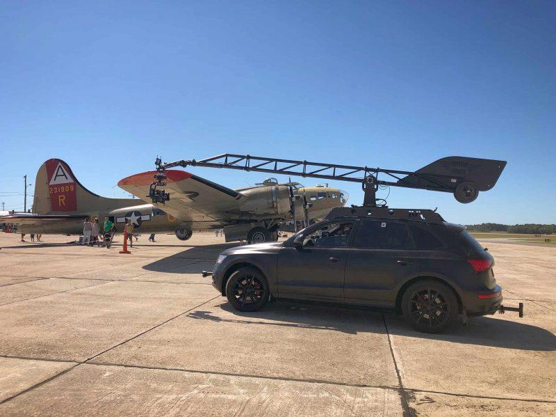 Mantis with B17 plane