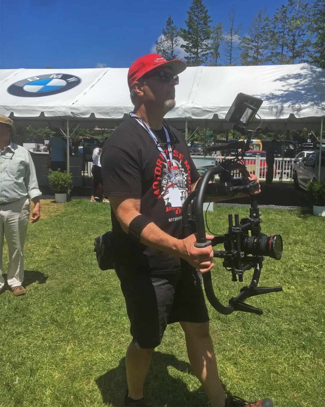 Movi Pro in Ready Rig at Concours