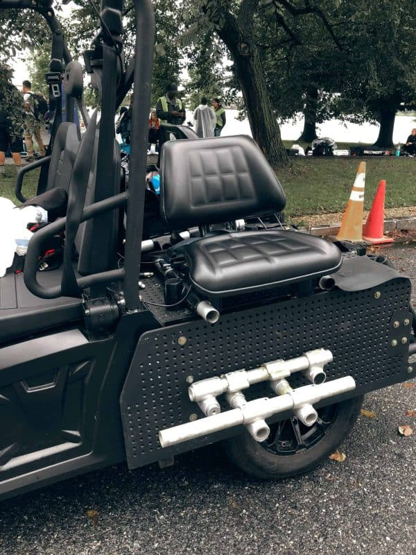 Scorpius rigged for side shooting seat