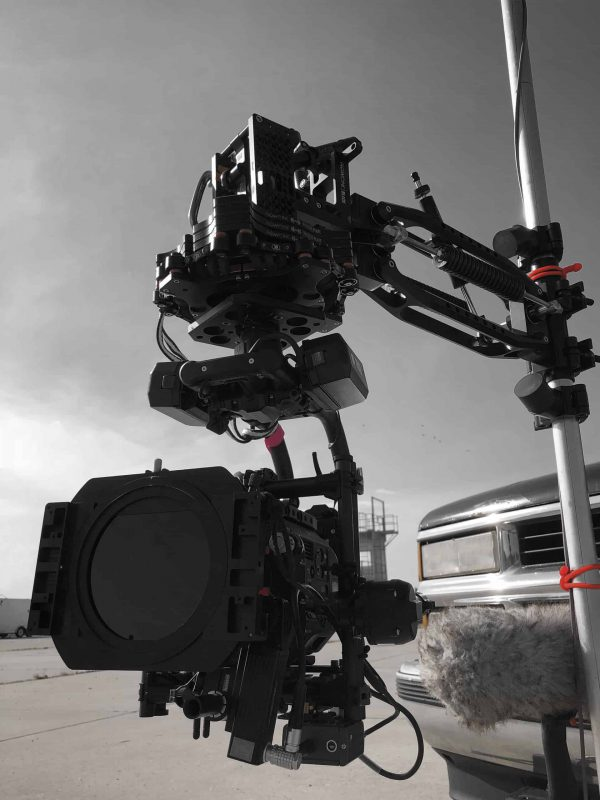 Movi Pro on Black Arm