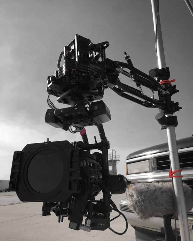 Black Arm with movi Pro
