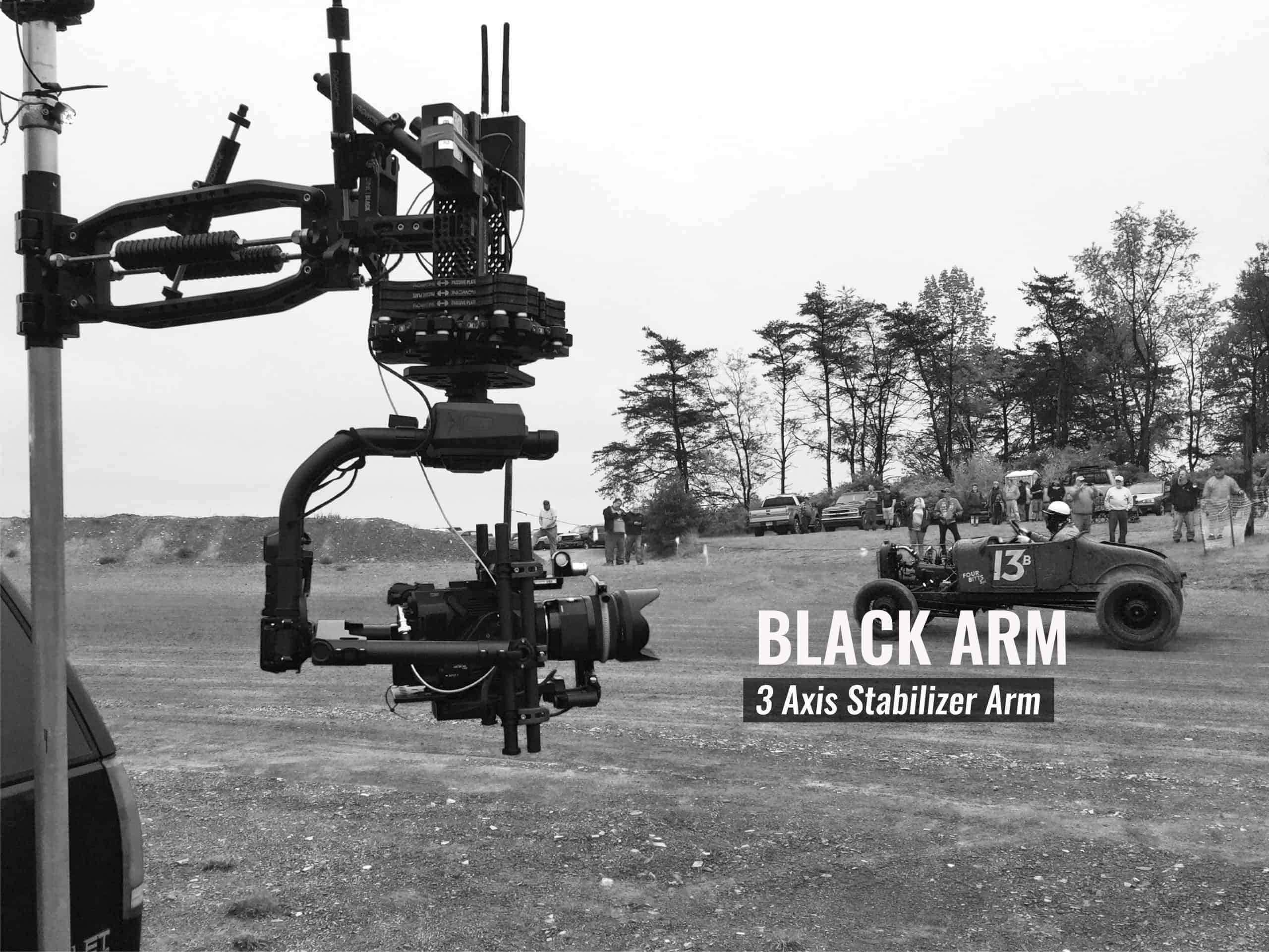 Flowcine Black Arm on Camera Car