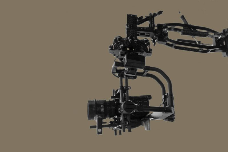 Flowcine Black Arm with Movi Pro from Motion House