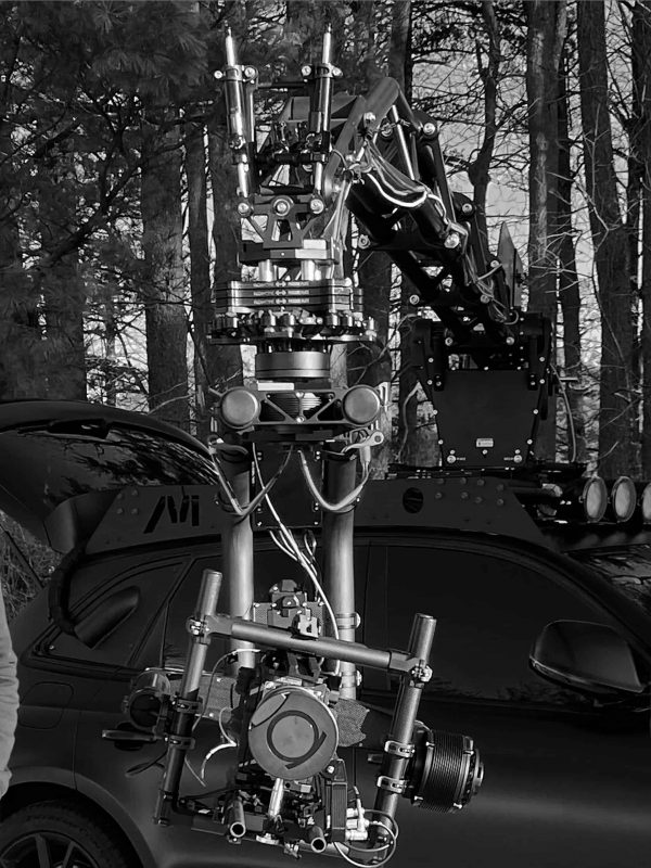 Movi XL with Red camera
