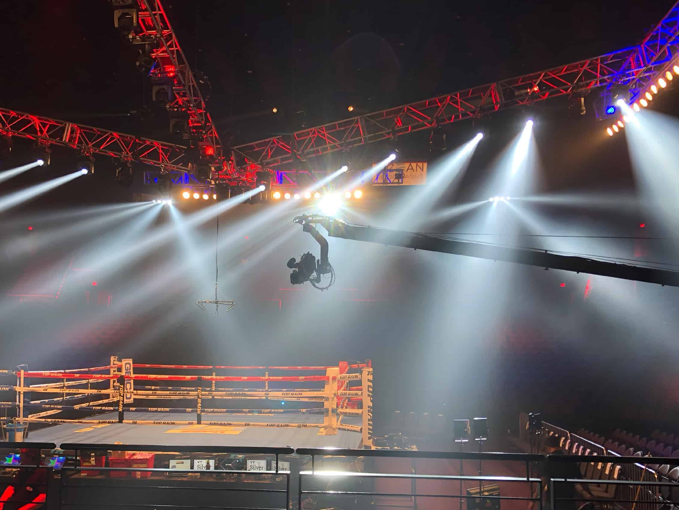Jimmy Jib at Top Rank ESPN Boxing