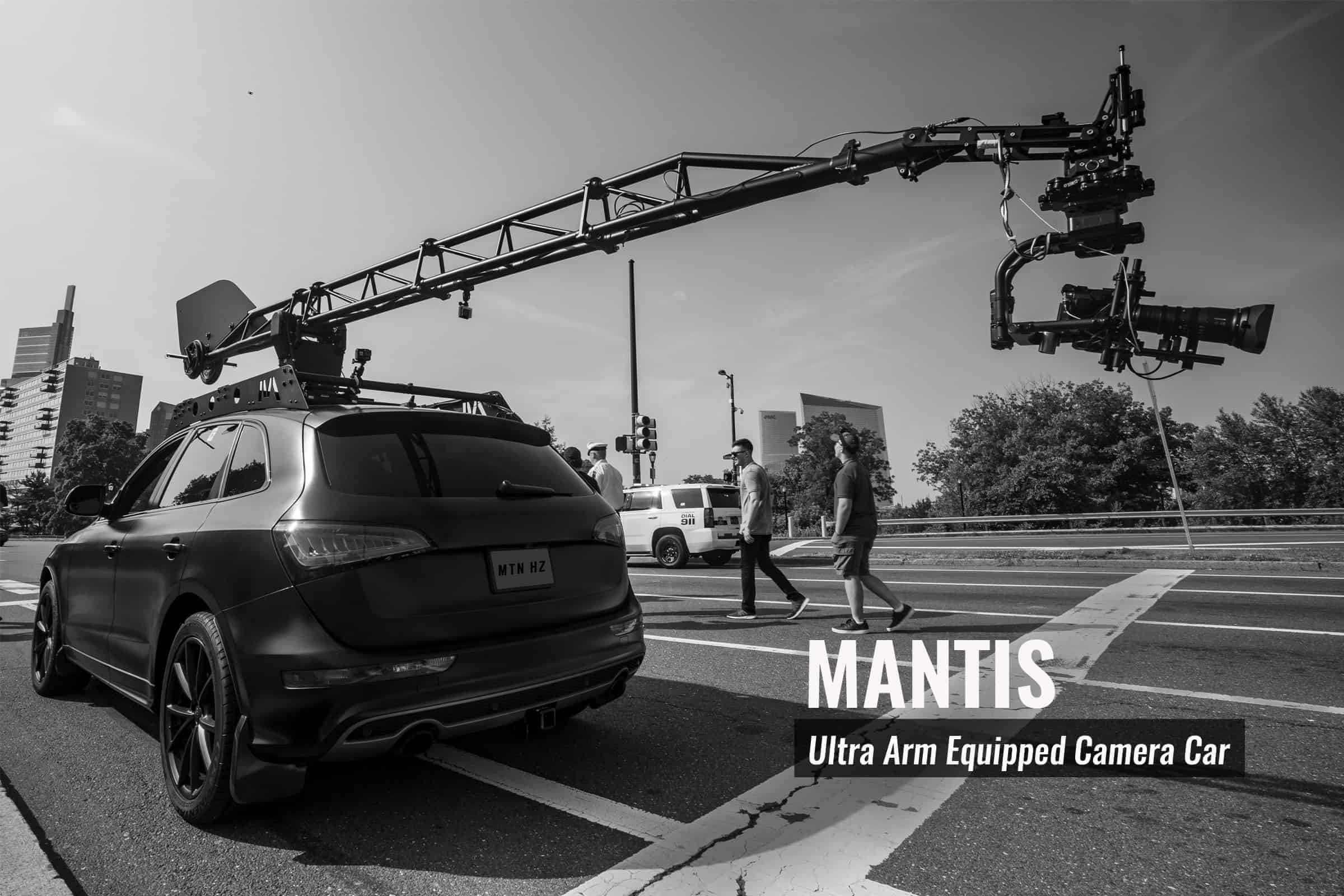 Mantis Camera Car from Motion House