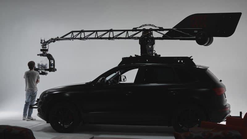 Camera Car bts for Honda commercial